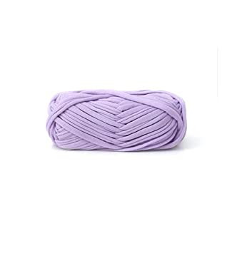 Amazon.com: Zituop DIY Crochet Cloth T Shirt Yarn for Hand Knitting Rugs Basket, 100g, 0.22Lb (Lavander)