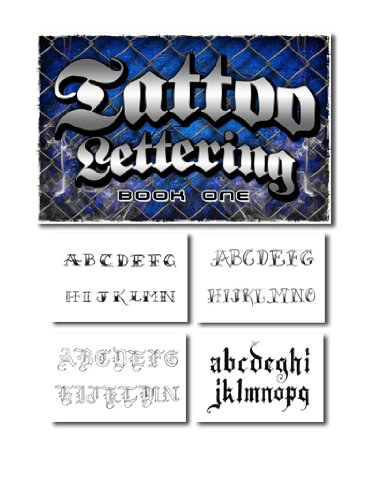 Tattoo Lettering Book Reference Flash