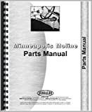 New Minneapolis Moline U Tractor Parts Manual (w/ KEF Engine)