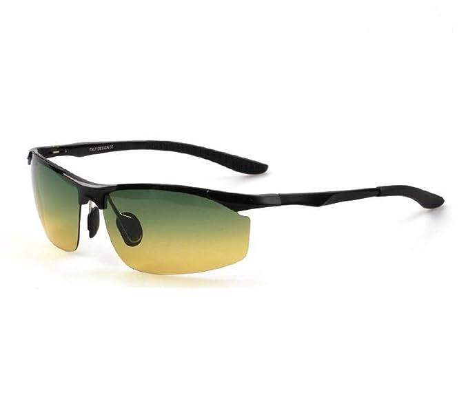 Addora Gafas De Sol Polarizadas Hombres Conducción Gafas De Visión Nocturna Uso Diurno Y Nocturno Gafas