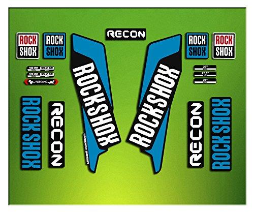 Pegatinas Horquilla Rock Shox Recon 2016 Elx34 Stickers