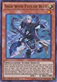 Yu-Gi-Oh! - Sage with Eyes of Blue (SHVI-EN020) - Shining Victories - 1st Edition - Ultra Rare