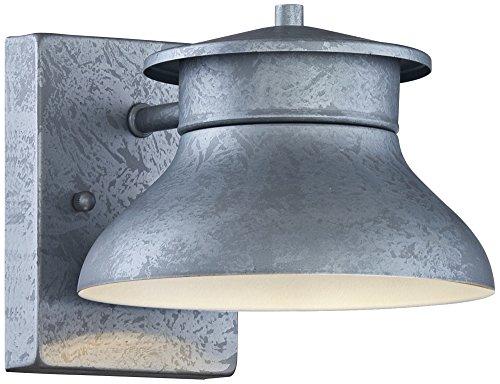 Danbury 5 High Galvanized Steel LED Outdoor Wall Light