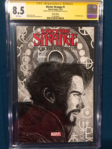 TIM BRADSTREET ORIGINAL Sketch Art CGC DOCTOR STRANGE Signed Punisher
