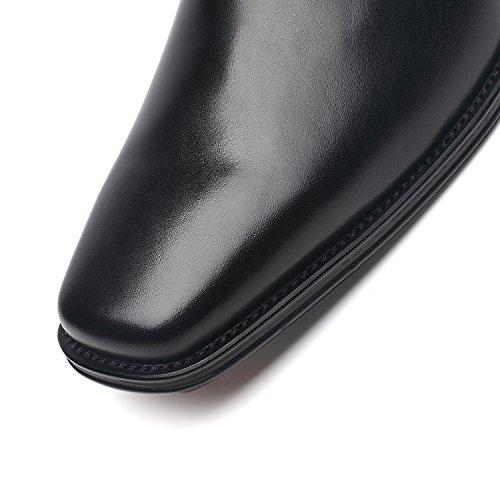 Nxt New York Heren Kleding Schoenen Geniune Lederen Oxford Schoenen Voor Mannen Zapatos De Hombre Loafer Comfortabele Klassiek Modern Formele Zakelijke Schoenen Ruk-3-zwart