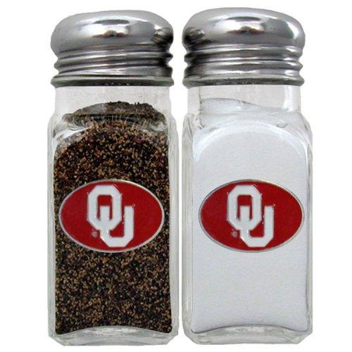 [NCAA Oklahoma Sooners Salt & Pepper Shakers] (Oklahoma Sooners Salt)