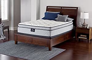 Serta Perfect Sleeper Super Pillow Top Mattress Innerspring, Queen Gel