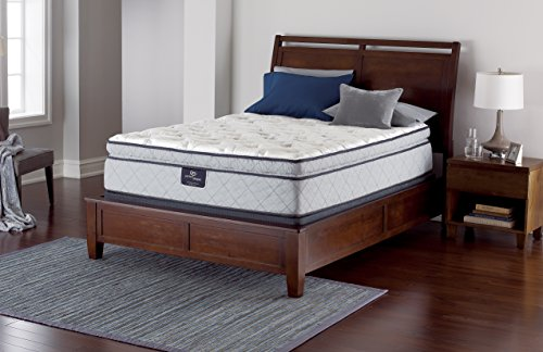 Serta Perfect Sleeper Super Pillow Top Mattress Innerspring, Queen Gel (Plush Super Pillow Top)