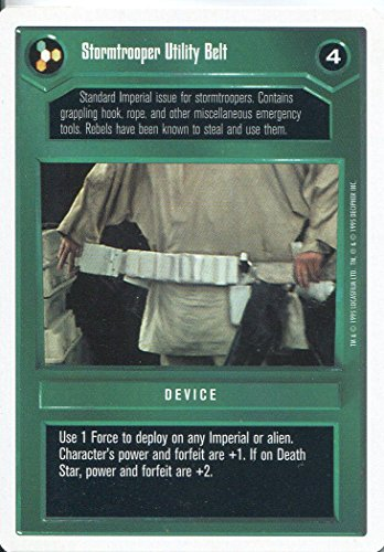 Star Wars CCG Premiere White Border Stormtrooper Utility Belt (Stormtrooper Utility Belt)