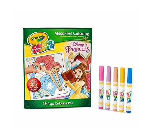 Color Wonder Princess Enchanted Coloring