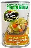 Health Valley Organic Soup No Salt Added Chicken Noodle -- 14.5 oz