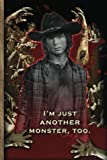 I'm Just Another Monster Too - Carl Grimes - The Walking Dead Journal Notebook: The Walking Dead Lined Journal A4 Notebook, for school, home, or work, ... x 9