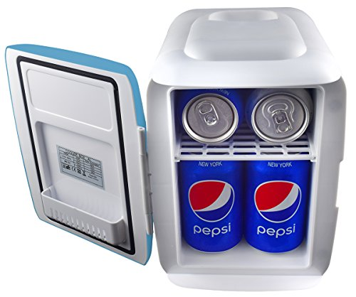 Electric Can Cooler ~ Cooluli mini fridge electric cooler and warmer liter