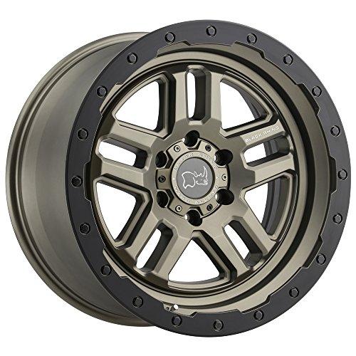 Black Rhino Barstow Custom Wheel - Matte Bronze with Matte Black Lip Ring 17