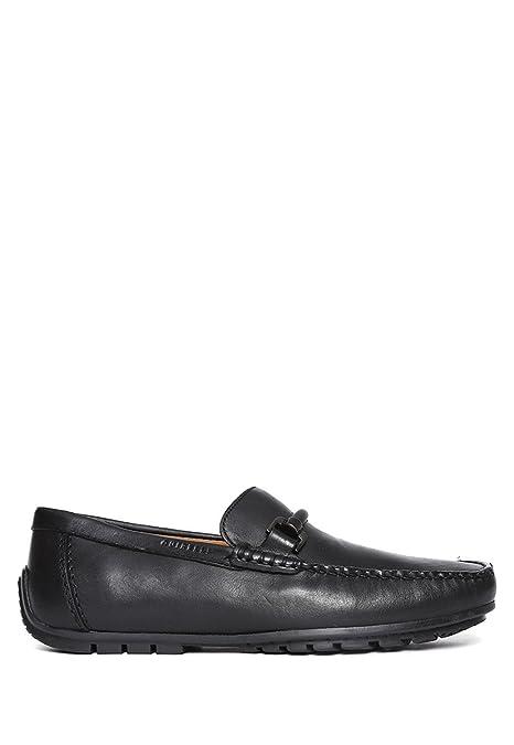 Quirelli Mocasín Horsebit Negro Zapato para Hombre Negro Talla 31 ... db5e5561646