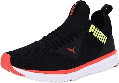 Puma Enzo Beta Woven Negro Rojo 192444 07: Amazon.es: Zapatos y ...