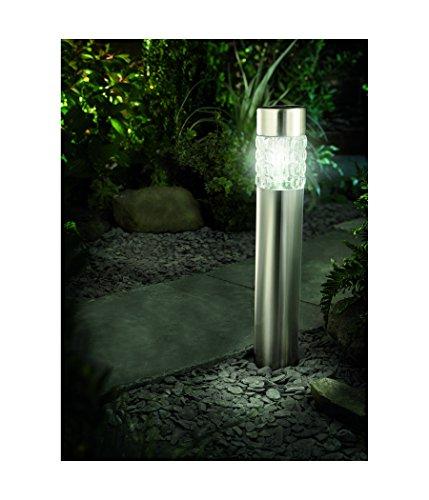 Solar Powered Outdoor Bollard Light in US - 8
