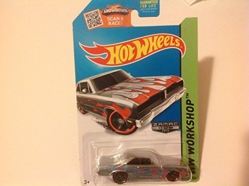 Hot Wheels, 2015 HW Workshop, '74 Brazilian Dodge Charger Exclusive ZAMAC Die-Cast Vehicle -