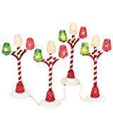 Department 56 Accessories for Villages Gumdrop Street Lamp Accessory Figurine (Set of 4)
