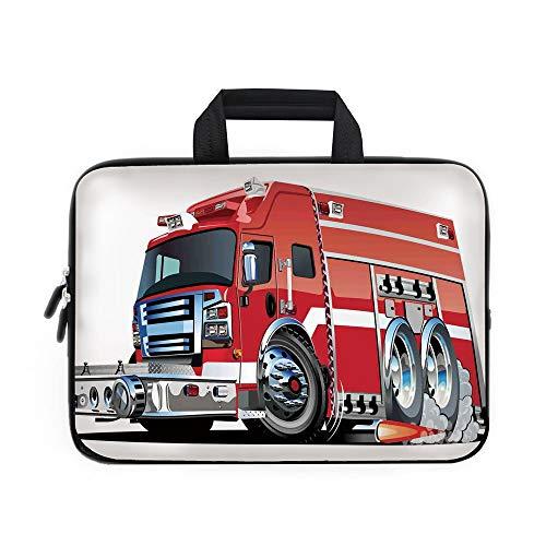 Funda de Neopreno para portátil, diseño de Coche con Texto en inglés'Cars Laptop Carry Bag', para Apple MacBook Air...