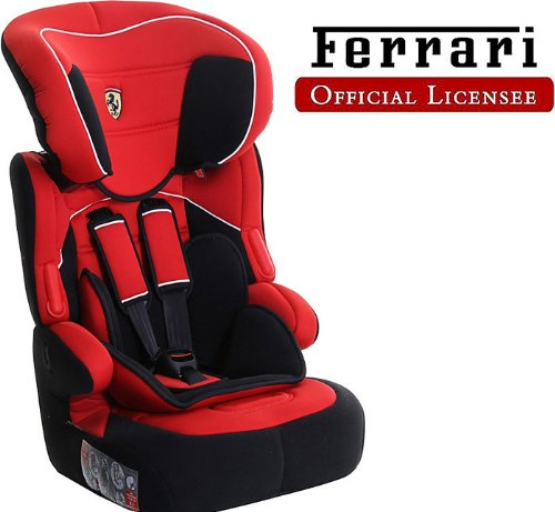 Car Seat FERRARI Stages 1 2 3