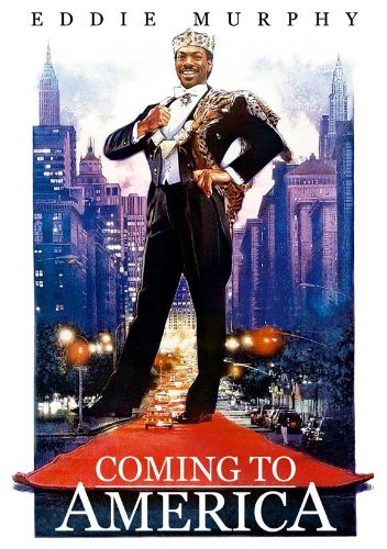 Coming to America Eddie Murphy Movie Poster