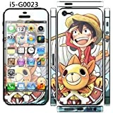 Super Cute !!''ONE PIECE'' Screen Protector For iPhone 5/5S/SE