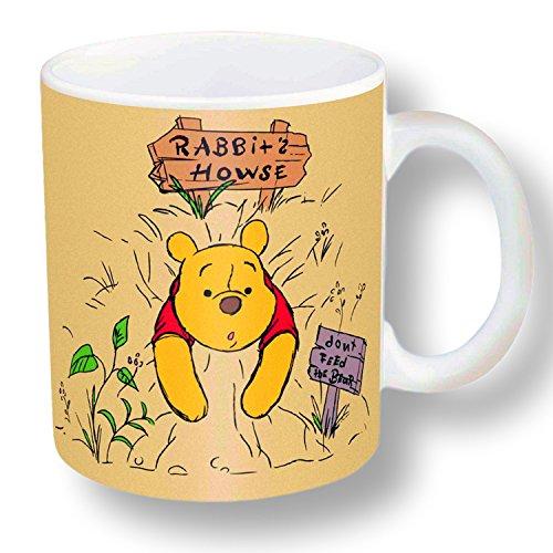 Zak Designs Character Ceramic Mug 11.5 OZ (Winnie the (Pooh Ceramic)