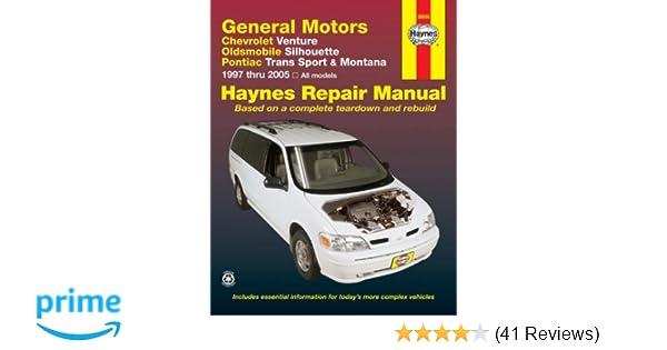 gm venture silhouette trans sport montana 1997 2005 haynes rh amazon com Haynes Repair Manuals PDF Haynes Repair Manual Online View