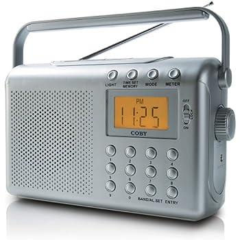 Amazon.com: Coby CX789 DDigital AM/FM/NOAA Radio with Dual