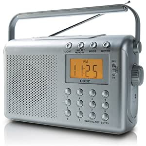 Coby CX789 DDigital AM/FM/NOAA Radio with Dual Alarms (Discontinued by Manufacturer)