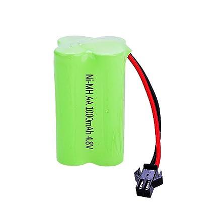 Nickel Metal Hydride Battery >> Amazon Com Yungou Aa 4 8v 1000mah Nickel Metal Hydride