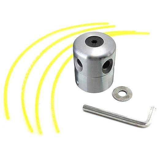 Womdee Cabezales de Aluminio recortadores de Hierba con Cabezal de ...