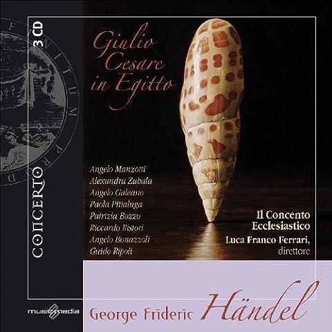 G.F. Handel: Giulio Cesare In Egitto by Handel, Il Concento Ecclesiastico, Ferrari (2009-05-26? - Giulio Ferrari