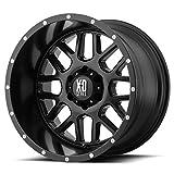 xd series 18 - XD Series by KMC Wheels XD820 Grenade Satin Black Wheel (18x9