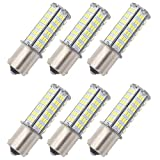 GRV BA15S 1156 1141 LED bulb 126-3014 SMD AC/DC 11-24V 4W High Bright Cool White Pack of 6
