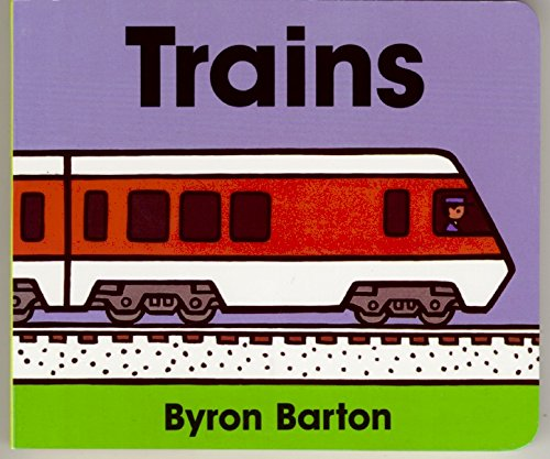 Trains Board Book Byron Barton product image