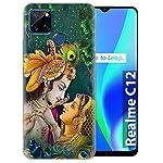 Fashionury Printed Soft Silicone Designer Pouch Mobile Back Cover for Realme C25s / Realme C12/ Narzo 20/ Narzo 30A Case…