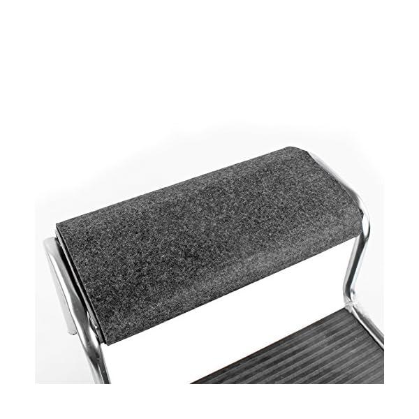51s%2BYHnfQ%2BL freizeit Fußmatte für Trittstufen Wohnwagen Wohnmobil Fußmatte, 45x40 cm, grau