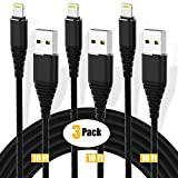 3Pack 10ft Charger Cord CABEPOW for Long 10 Foot iPhone...