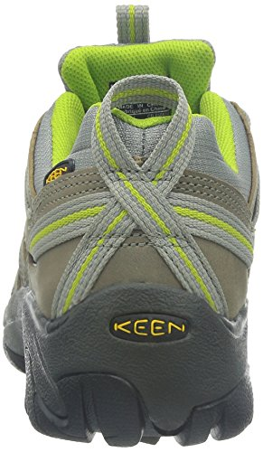 Keen Women's Voyageur Hiking Shoe Neutral Gray/Lime Green cheap manchester great sale collections cheap price cheap sale pictures sale in China TlWdQ0QAua
