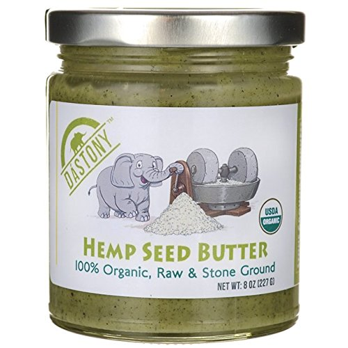 Dastony Hemp Seed Butter 8 oz (227 grams) Jar