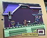 Mega Man X Diorama (Framed Artwork) SNES