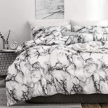 1 double cover, 1 bed Pillowcase 2 Piece 68x90 Luxury Soft Microfiber Lightweight Grid Geometric Modern Duvet Quilt Covers with Zip Ties Twin Duvet Cover Set for Boys Men Grey Gray Plaid