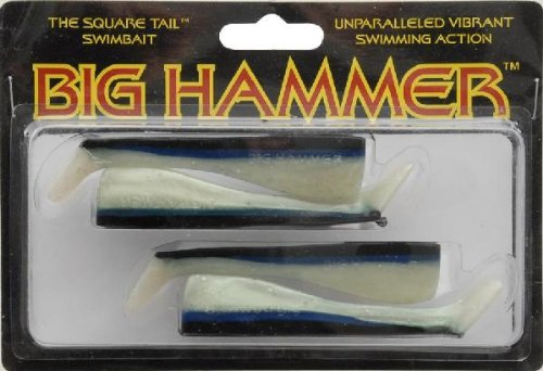 South Bend Big Hammer Swimbait, Pacific Chovy, 4-Inch