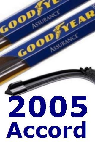 2005 Honda Accord Replacement Windshield Wiper (2 Blades)