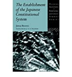 img - for [ Establishment of the Japanese Constitutional System (Nissan Institute/Routledge Japanese Studies) By Banno, Junji ( Author ) Paperback 1995 ] book / textbook / text book