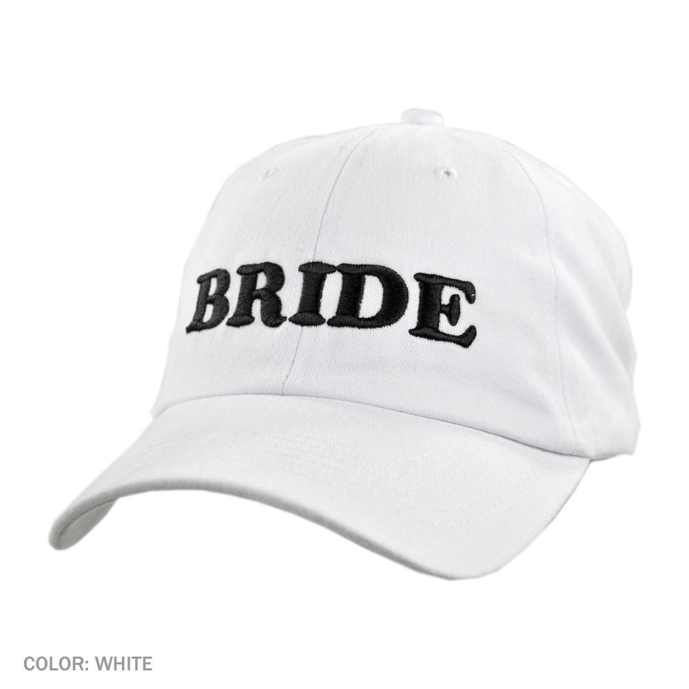 Village Hat Shop Bride Baseball Cap (Adjustable 2fad70d8412