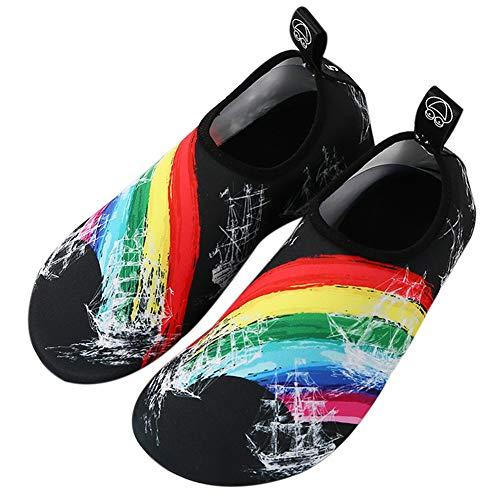 Plongée Chaussures Plage Ski Nautique Chaussures de Enfant de Chaussures 32 Chaussures Roulant de 33 de Tapis I de Yoga pqqrxSnR5