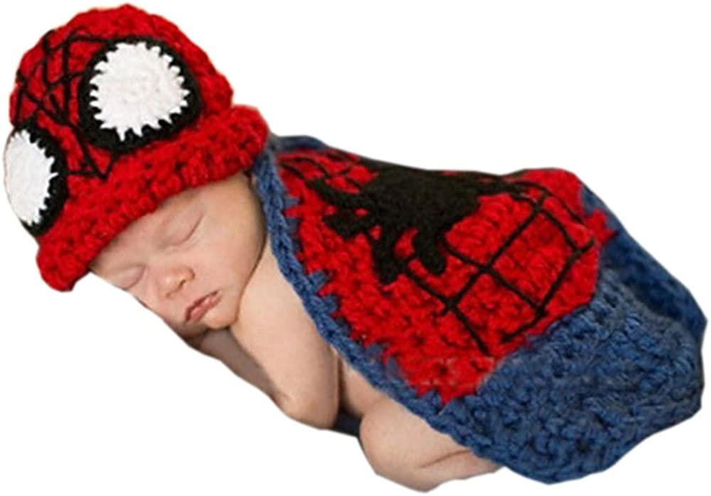 Pinbo Newborn Baby boys Girls Photography Prop Crochet Knitted Hat Cover